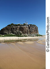 Nobbys Lighthouse - Famous landmark in Newcastle Australia....