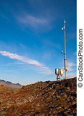 Weather Camera - Weather camera station located on top of...