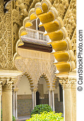 beautiful moorish architecture