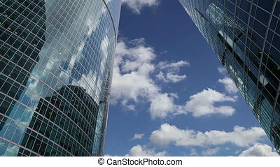 Skyscrapers of the International Business Center (City),...