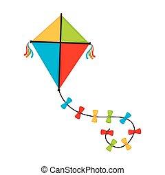 flying kite illustration - photo #22