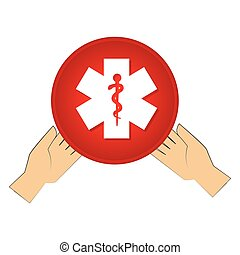 medical symbol isolated icon vector illustration design