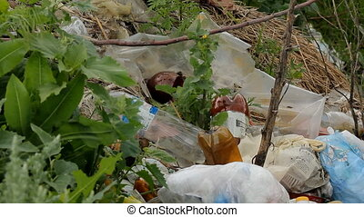Rubbish Landfill Waste - Urban Refuse Dump Rubbish Landfill...