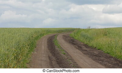 Wheat Field Road HD