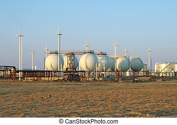Gas Processing Plant - Installation for the production of...