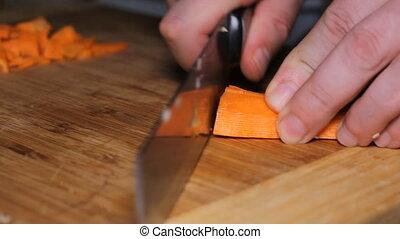 Knife Cut Carrots