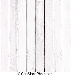 Wooden wall texture background, White color.