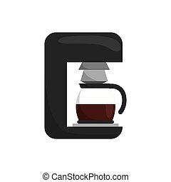 Coffee machine maker icon vector illustration graphic design