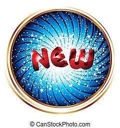 """""""NEW"""" inscription banner"""