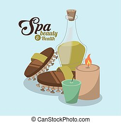 spa beauty related icons image