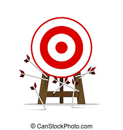 all miss the target - Miss target, goals vector success...