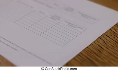 Checked stamp stamping document stamp 1