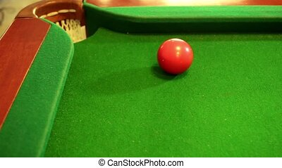 Billiard good shot - Billiard fail shot 1 2 3
