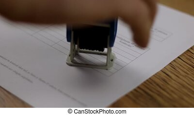 File copy stamp stamping document stamp