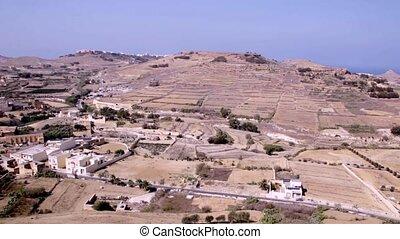 Gozo panorama view, Malta