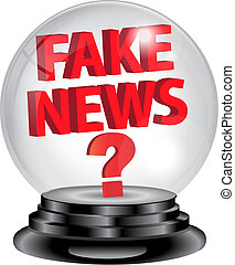 Fake News crystal ball