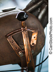 Motorcycle suicide shifter - Gear shifter from a motorcycle,...