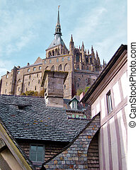 Mont Saint Michel in the Normandie, France