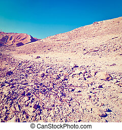 Negev - Rocky Hills of the Negev Desert in Israel, Instagram...