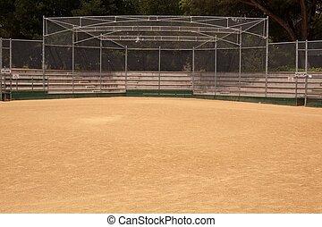 Baseball Field - A baseball field, also called a ball field...