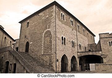 Consul Palace. Bevagna. Umbria.