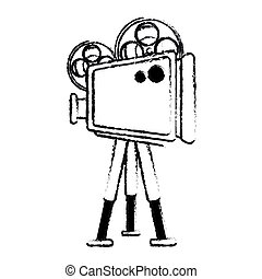 Film projector Clip Art and Stock Illustrations. 3,191 Film ...