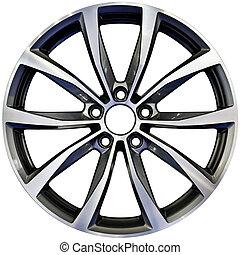 Aluminum Wheel Cutout - Racing Performance Aluminum Wheel...