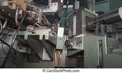 Computer Controlled Machine - Industrial equipment, machines...