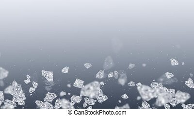 Pale gray-purple background with diamonds HD