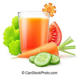 Isolated vegetable juice