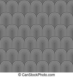 Grey seamless background, vector illustration