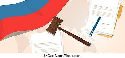 Russia law constitution legal judgment justice legislation...