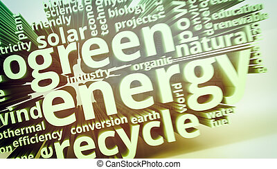 concept of green energy