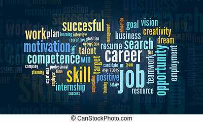 concept of job and career