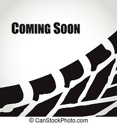 coming soon abstract background