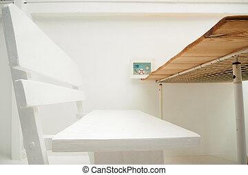 foto, decoración, Plano de fondo,  macro,  whte, silla