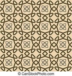 Fashion seamless tile vector pattern - Fashion textile tile...
