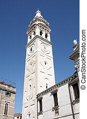 Baroque bell tower - Church of Santa Maria Formosa in...