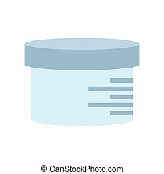 urine sample container icon vector illustration eps 10