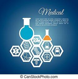 medical laboratory chemistry service vector illustration eps...