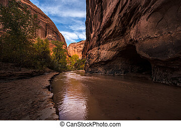 Coyote Gulch Grand Staircase Escalante National Monument...