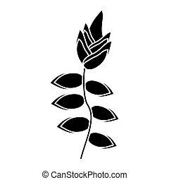 トロピカル, 植物, 花,  pictogram