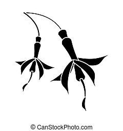 flower petal natural pictogram