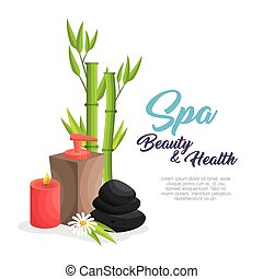 spa beauty and health poster