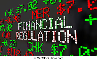 Financial Regulation Government Control Oversight Stock...