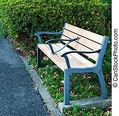 Peaceful  Park Bench
