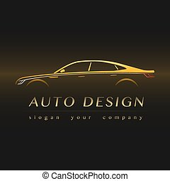 ???????? RGB - Auto Company Yellow Logo Vector Design...