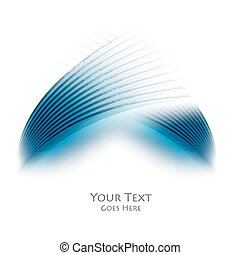 colorful vector wavy background - Colorful vector blue wavy...