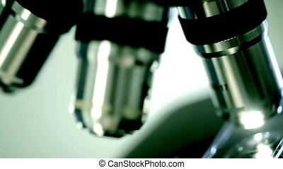 Laboratory Microscope. Scientific and healthcare research...