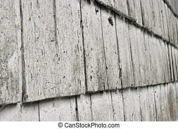 Wood siding texture perspective